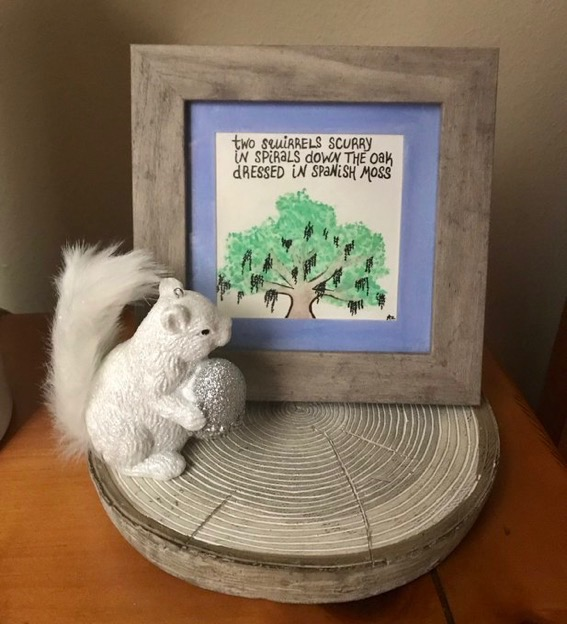squirrel haiku